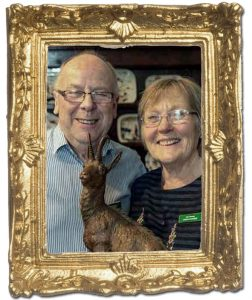 Colin And Jean Greenway Framed