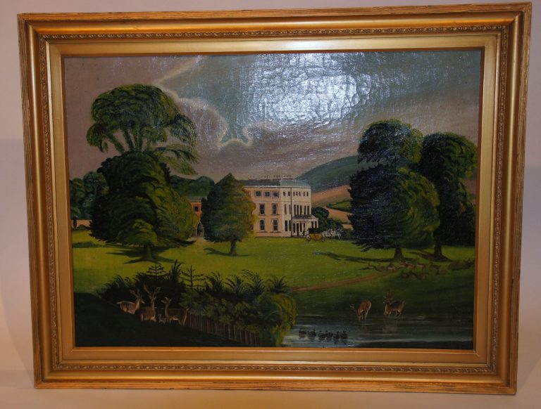 Country House Oil Painting