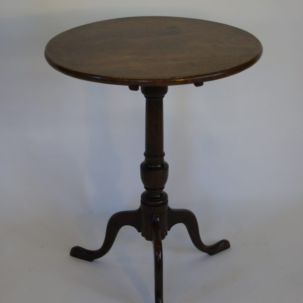 Georgian Mahogany Tea Table c1780