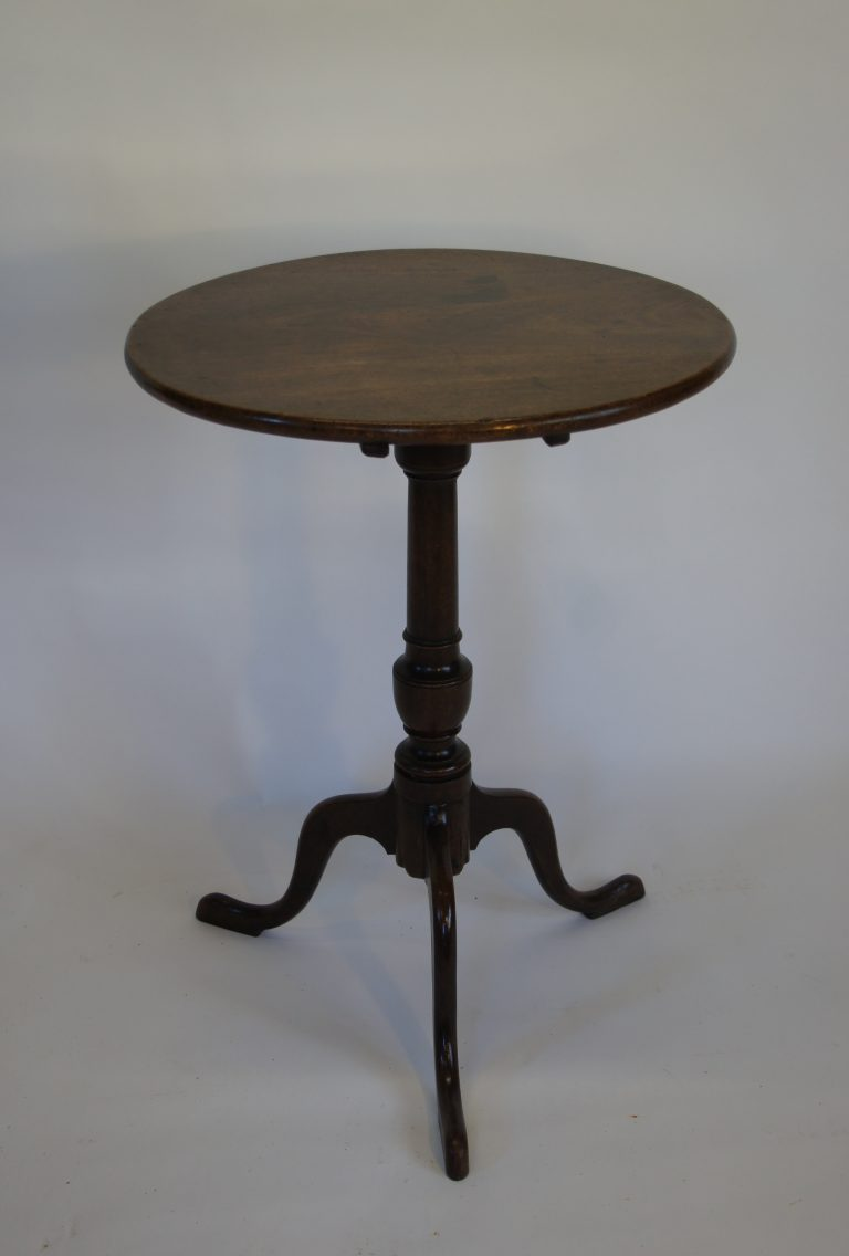 Georgian Mahogany Tea Table c1780