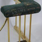 19thc Brass Club Fender (England c1880)