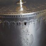 18thc Silver Tea Caddy