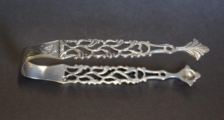 Georgian Silver Sugar Tongs