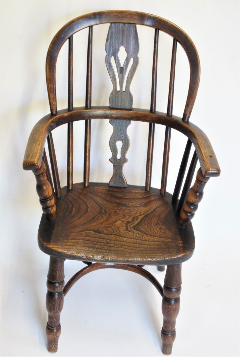 19thc Childs Lincolnshire Windsor Chair
