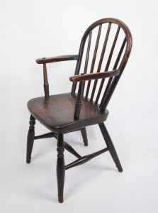 Hooped Back Childs Windsor Chair side view